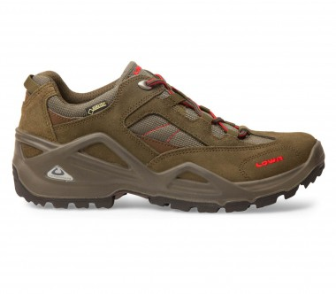 Lowa - Sirkos GTX men's hiking shoes (schiefer/red)