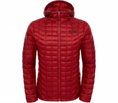 The North Face - ThermoBall hoodie men's synthetic fibre insulating jacket (red)
