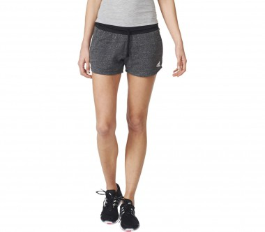Adidas - Cotton Fleece women's training shorts (black/white)