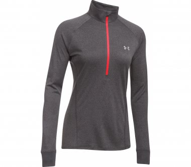 Under Armour - Tech Half-Zip women's training longsleeve top (grey)