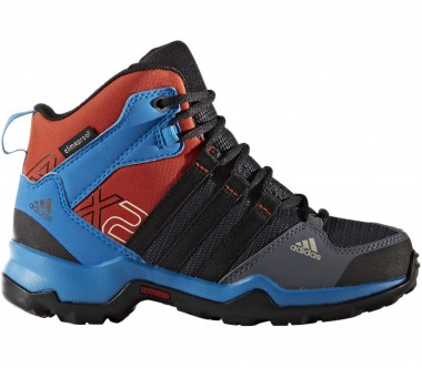 Adidas - AX2 Mid CP Children hiking shoes (black/blue)