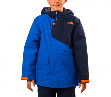 The North Face - Calisto Insulated children's ski jacket (blue/black)
