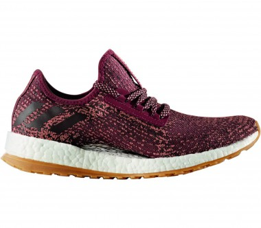Adidas - Pure Boost X ATR women's running shoes (dark red/yellow)