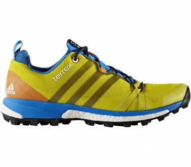 Adidas - Terrex Agravic men's hiking shoes (yellow/blue)