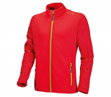 CMP - Stretch Performance men's fleece jacket (red)