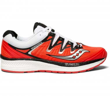 Saucony - Triumph ISO 4 women's running shoes (red/black)