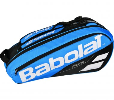Babolat - Pure Racket Holder X6 Sac de Tennis (bleu/blanc)