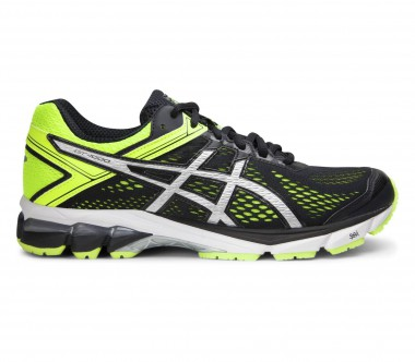 Asics - GT-1000 4 men's running shoes (black/yellow)