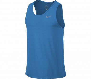 Nike - Dri-Fit Contour men's running tank top (blue)