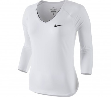 Nike - Serena Williams Pure long-sleeved women's tennis top (white)