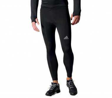 Adidas - Sequencials Long Tight men's running shorts (black)