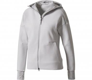 Adidas - Z.N.E. Hood2 Pulse women's training hoodie (grey)