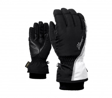 Ziener - Kinnia GTX women's ski gloves (black/white)
