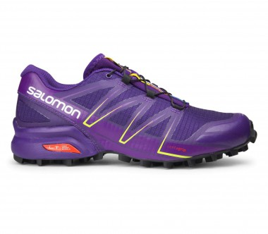 Salomon - Speedcross Pro women's running shoes (purple/black)