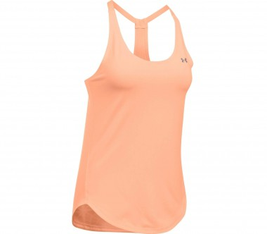 Under Armour - Heatgear Armour Coolswitch women's training tank top (orange)