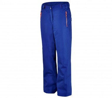 Ziener - Tullie women's ski pants (blue/orange)