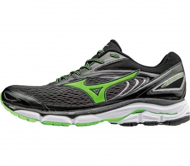 Mizuno - Wave Inspire 13 men's running shoes (black/light yellow)