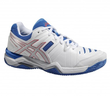 Asics - Gel Challenger 10 Clay women's tennis shoes (white/blue)