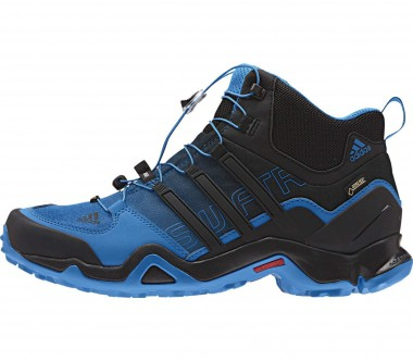 Adidas - Terrex Swift R Mid GTX men's hiking shoes (black/blue)