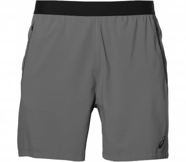 Asics - Ventilation men's training shorts (grey)