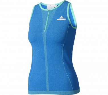 Adidas - women's tennis tank top (blue/green)