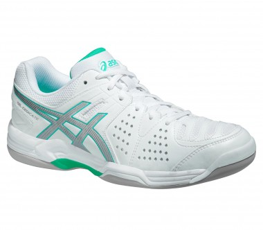 Asics - Gel Dedicate 4 Indoor women's tennis shoes (white)