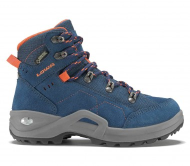 Lowa - Kody III GTX MID Kids hiking shoes (blue/orange