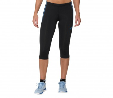 Asics - Adrenaline Knee Tight women's 3/4 running pants (black/blue)