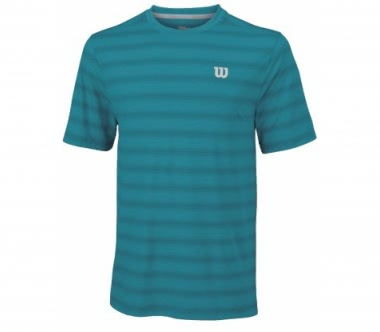 Wilson - Star Blue Crew men's tennis top (blue)