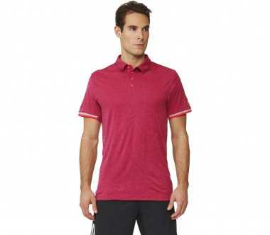Adidas - Uncontrol Climachill men's tennis polo shirt (red)
