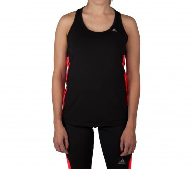 Adidas - Clima 3S Essentials women's training top (black/red)