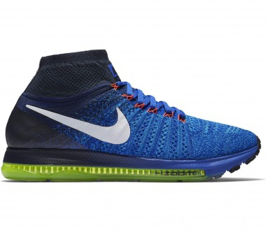 Nike - Zoom All Out Flyknit men's running shoes (blue/white)