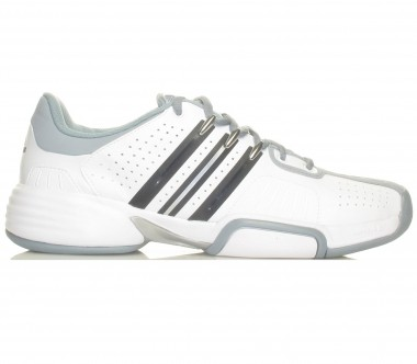 Adidas - Barricade Team Carpet Men - white/silver - Tennis - Tennis Shoes - Men