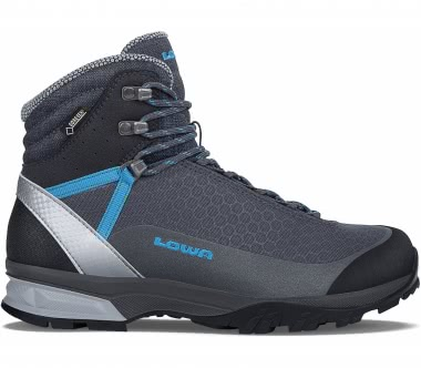 Lowa - Lyxa GTX® Mid women's trekking shoe (dark grey/blue)