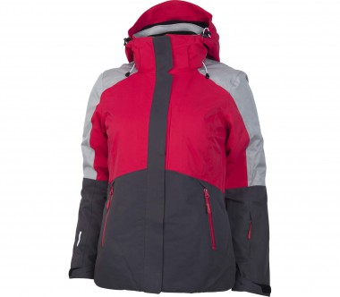 Icepeak - Ursula women's ski jacket (red/grey)