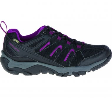 Merrell - Outmost LOW GTX women's hiking shoes (black/purple)