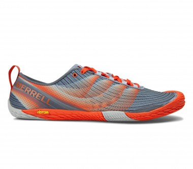 Merrell - Vapor Glove 2 men's trail running shoes (grey/orange)