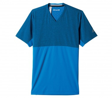 Adidas - Uncontrol Climachill men's tennis top (blue)