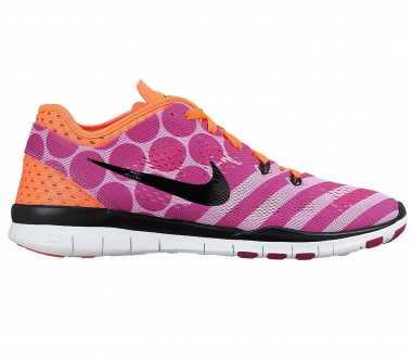 Nike - Free 5.0 Trainer Fit 5 PRT women's training shoes (pink/orange)