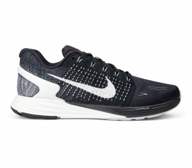 Nike - LunarGlide 7 men's running shoes (black/white)