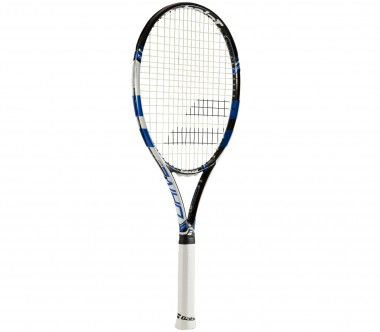 Babolat - Pure Drive 107 unstrung tennis racket (black/blue)