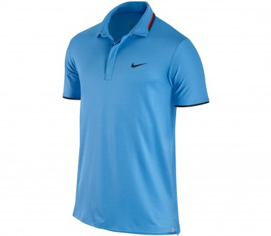Nike - Hard Court UV Polo blau - FA12 - Tennis - Tennis Cloth - Men