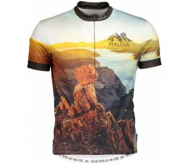 Maloja - Mr.MüllerM. 1/2 men's Bike jersey (multi-coloured)