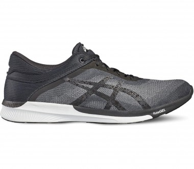 Asics - fuzeX Rush men's running shoes (black/grey)