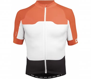 POC - AVIP Ceramic Shortsleeve men's Bike jersey (orange/white)