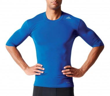 Adidas - Techfit Base men's training top (dark blue)