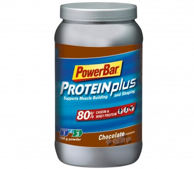 Powerbar - ProteinPlus 80 Percent Chocolate, 700 g Can - Fitness - Fitness Nutrition