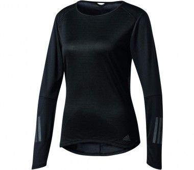 Adidas - Response long-sleeved women's running top (black)