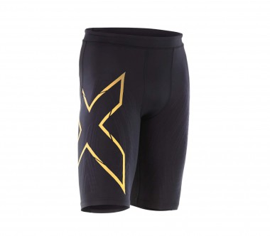 2XU - MCS Compression men's running shorts (black/gold)