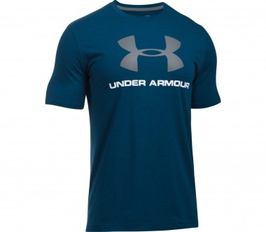 Under Armour - CC Sportstyle Logo men's training top (grey)